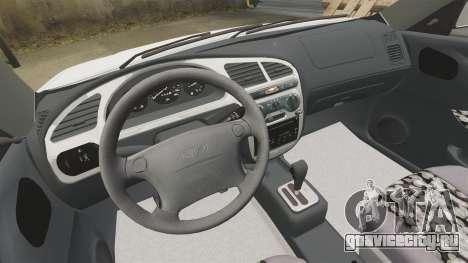 Daewoo Lanos GTI 1999 Concept для GTA 4 вид изнутри