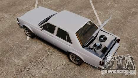 Обновлённый Marbella для GTA 4 вид сзади слева