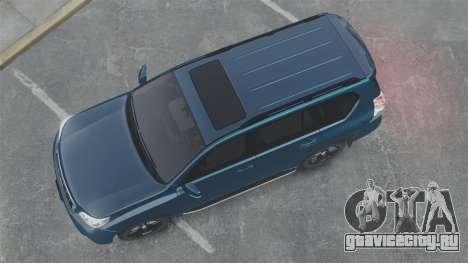 Toyota Land Cruiser Prado 150 для GTA 4 вид справа
