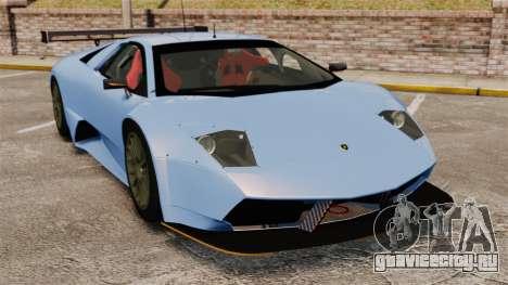 Lamborghini Murcielago RSV FIA GT1 v3.0 для GTA 4