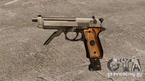 Автоматический пистолет Beretta M93R для GTA 4 третий скриншот