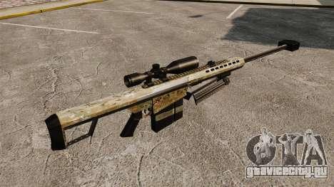 Снайперская винтовка Barrett M82 v14 для GTA 4 второй скриншот