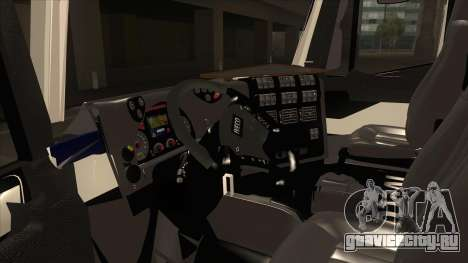 Iveco Hi-Land Автобетоносмеситель для GTA San Andreas вид сзади