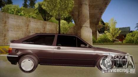 Volkswagen Gol для GTA San Andreas вид сзади слева