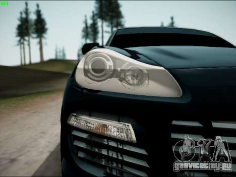 Porsche Cayenne для GTA San Andreas вид справа