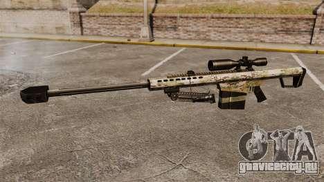 Снайперская винтовка Barrett M82 v14 для GTA 4 третий скриншот