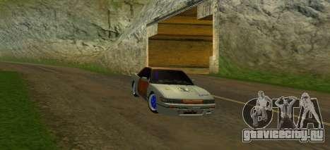 Nissan Silvia S13 MGDT для GTA San Andreas вид сбоку