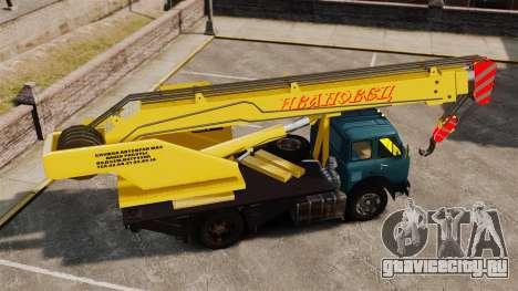 МАЗ КС3577-4-1 Ивановец для GTA 4 вид слева