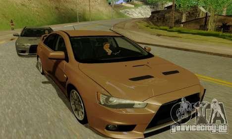 ENBSeries for Medium PC для GTA San Andreas второй скриншот