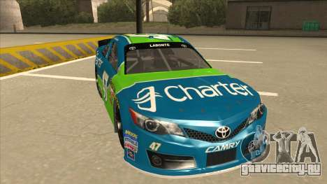 Toyota Camry NASCAR No. 47 Charter для GTA San Andreas вид слева