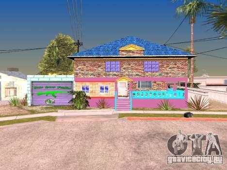 Текстуры дома Карла для GTA San Andreas второй скриншот