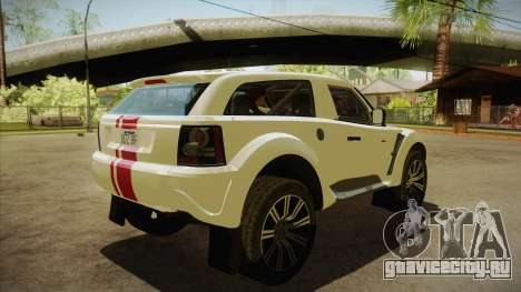 Bowler EXR S 2012 HQLM для GTA San Andreas вид справа