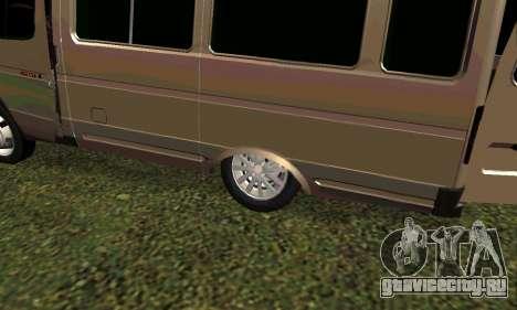 ГАЗель Тюнинг для GTA San Andreas вид слева