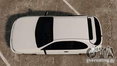 Daewoo Lanos GTI 1999 Concept для GTA 4 вид справа