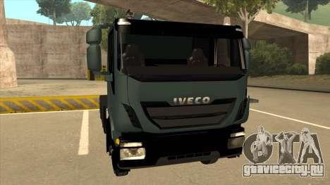 Iveco Hi-Land для GTA San Andreas вид слева