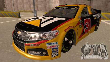 Chevrolet SS NASCAR No. 31 Caterpillar для GTA San Andreas