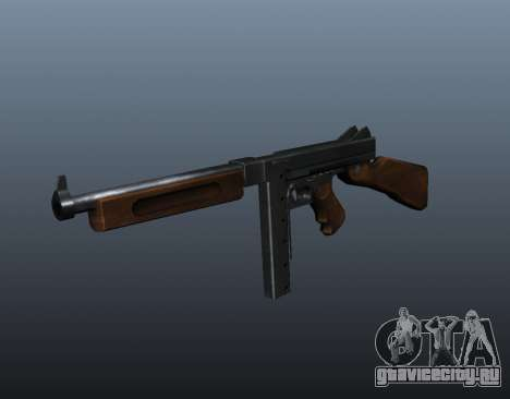 Пистолет-пулемёт Томпсона М1А1 v2 для GTA 4