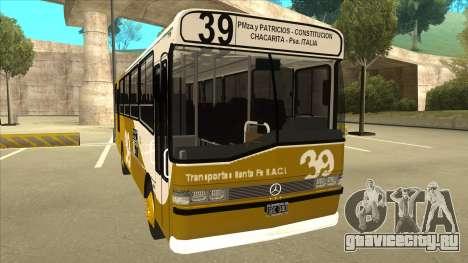 Mercedes-Benz OHL-1320 Linea 39 для GTA San Andreas вид слева