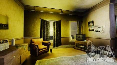 Новые текстуры в первой квартире Романа для GTA 4 второй скриншот