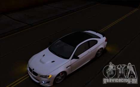 BMW M3 Hamann для GTA San Andreas вид слева