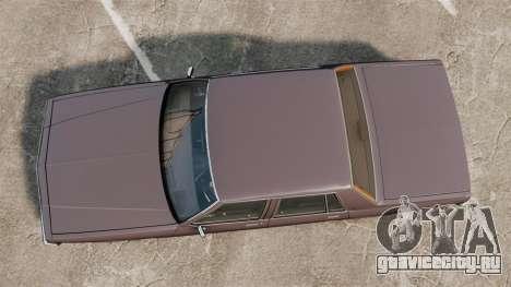 Chevrolet Impala 1985 для GTA 4 вид справа