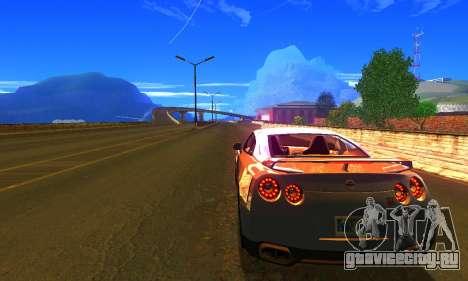 ENBSeries by AVATAR V2 для GTA San Andreas второй скриншот