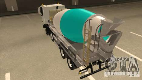 Iveco Hi-Land Автобетоносмеситель для GTA San Andreas вид справа