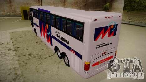 Busscar Jum Buss 400 P Volvo для GTA San Andreas вид сзади