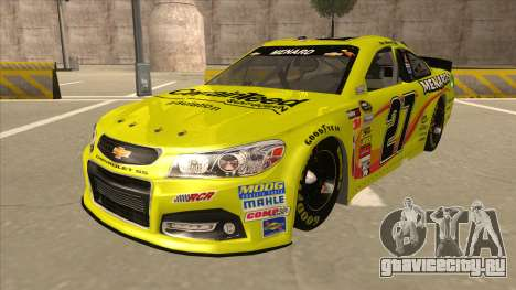 Chevrolet SS NASCAR No. 27 Menards для GTA San Andreas