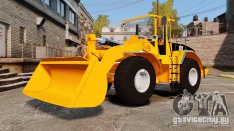 Фронтальный колёсный погрузчик Caterpillar 966G для GTA 4 вид сзади