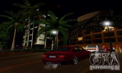 ENBSeries for Medium PC для GTA San Andreas седьмой скриншот