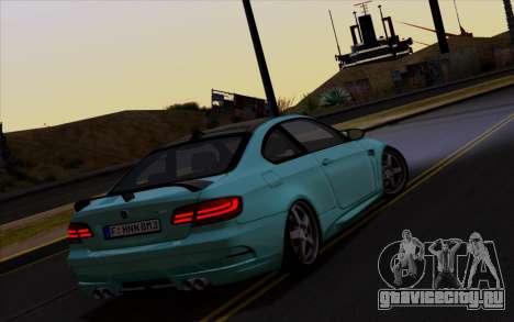 BMW M3 Hamann для GTA San Andreas вид справа