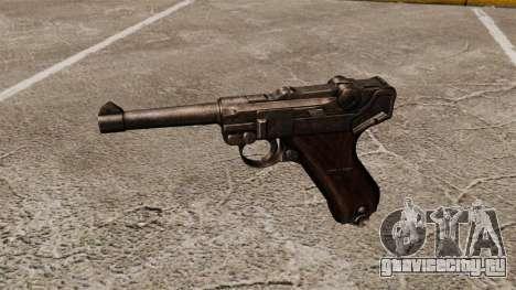Пистолет Parabellum v1 для GTA 4 третий скриншот