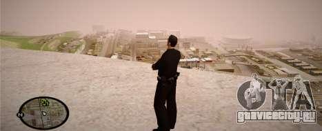 Los Angeles Police Officer для GTA San Andreas шестой скриншот