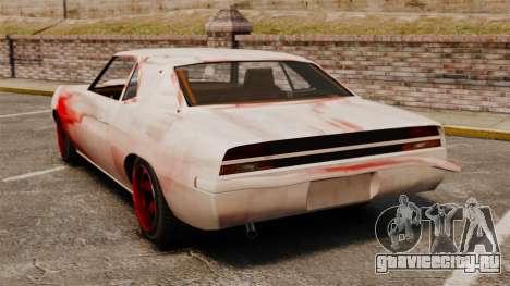 Новые раскраски для ржавого Vigero для GTA 4 вид сзади слева