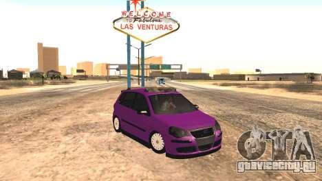 Volkswagen German Polo для GTA San Andreas