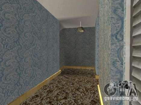 Новый интерьер 2-ух этажного дома CJ для GTA San Andreas десятый скриншот