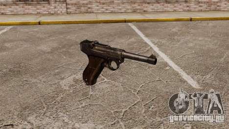 Пистолет Parabellum v1 для GTA 4