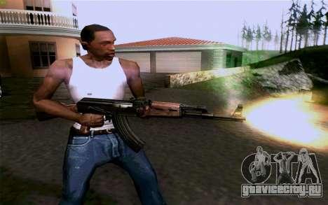 АК-47 для GTA San Andreas шестой скриншот