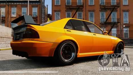 Sultan RS седан для GTA 4 вид слева