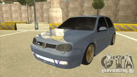 Volkswagen Golf MK4 Gti Eurolook для GTA San Andreas