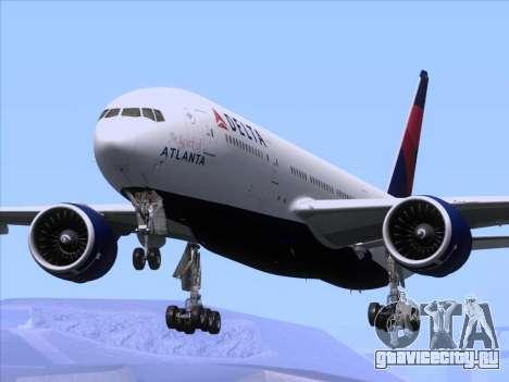 Boeing 777-200ER Delta Air Lines для GTA San Andreas