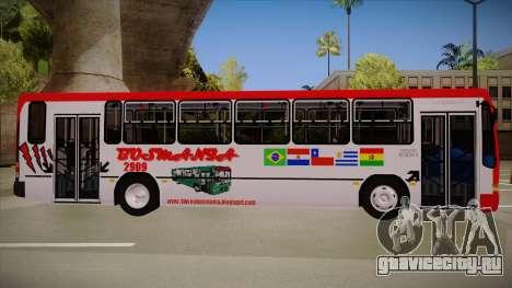 Busscar Urbanus SS Volvo B10 M Busmania для GTA San Andreas вид сзади слева