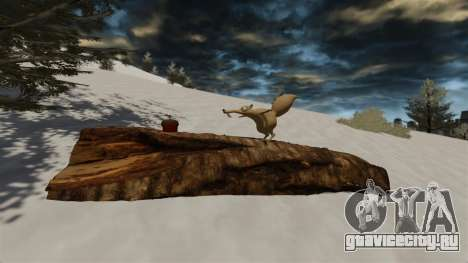 Локация Arctic IV [Final] для GTA 4 четвёртый скриншот