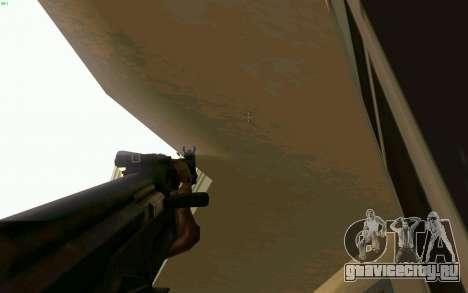 АК-47 для GTA San Andreas седьмой скриншот