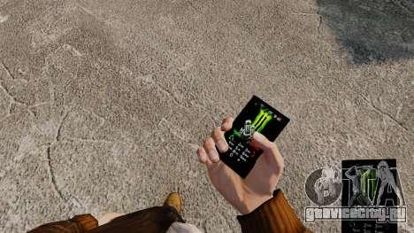 Темы для телефона брендов напитков для GTA 4 второй скриншот