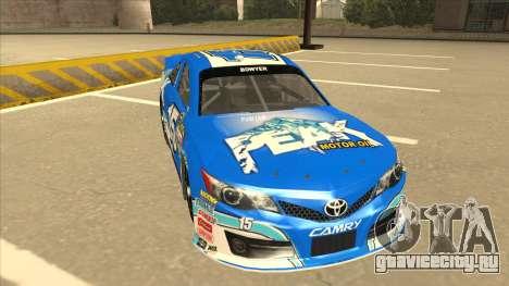 Toyota Camry NASCAR No. 15 Peak для GTA San Andreas вид слева