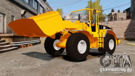 Фронтальный колёсный погрузчик Caterpillar 966G для GTA 4 вид сбоку