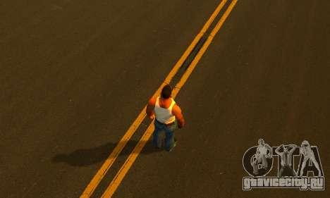 ENBSeries by AVATAR V2 для GTA San Andreas четвёртый скриншот