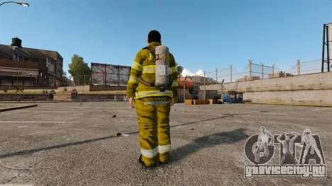 Жёлтая униформа у пожарников для GTA 4 третий скриншот